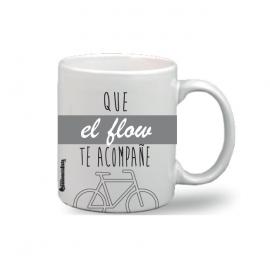 "Taza ""Que el Flow te acompañe"""