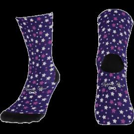 calcetín estrellas