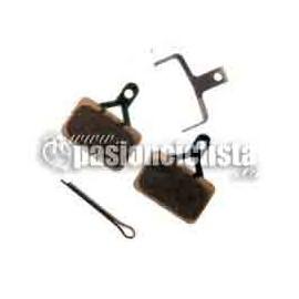 Pastillas de freno de disco Shimano Compatible con BR-M575 / BR-M486 / BR-M485 / BR-M445 / BR-M446
