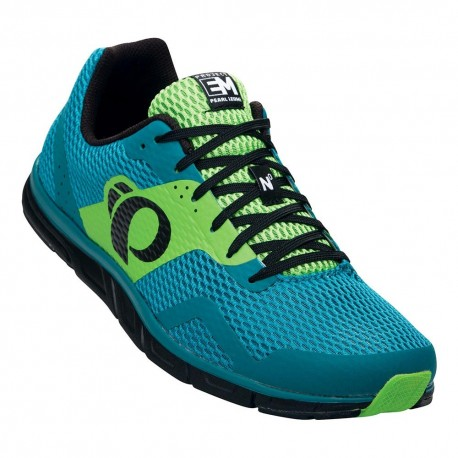 Zapatillas Pearl Izumi Run EM Road N0 verde azul