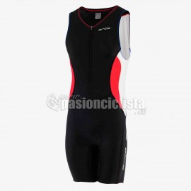 Mono de triathlon CORE RACE SUIT rojo-azul 2015