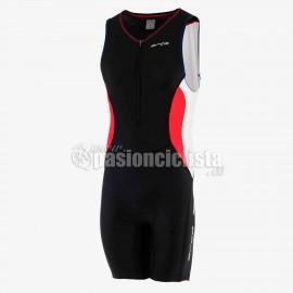 Mono de triathlon CORE RACE SUIT rojo-azul 2015 M (hombre)