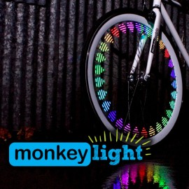 Luz para ruedas Monkey light M210 (10 led)