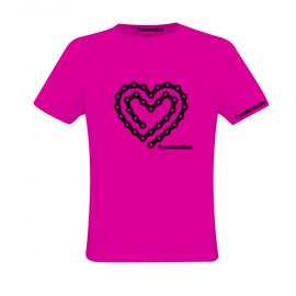 Camiseta Cadena Corazón
