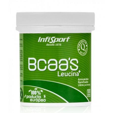 INFISPORT BCAA 100 cápsulas.