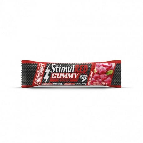 NUTRISPORT GUMMY BAR RED BERRIES