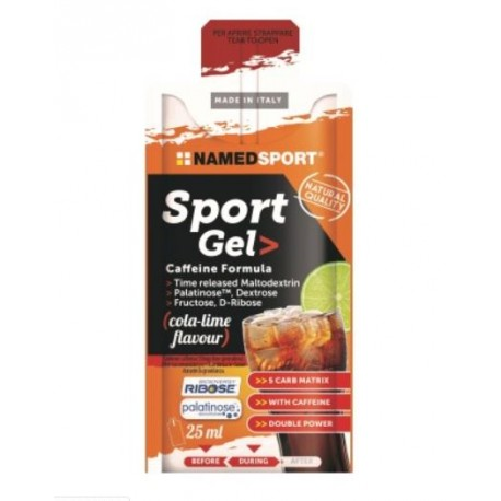 NAMEDSPORT GEL CAFFEINE FORMULA 25ML