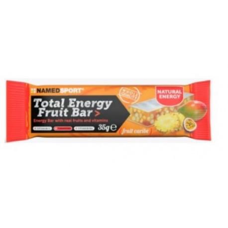 NAMED TOTAL ENERGY FRUIT BAR FRUTAS 35GR