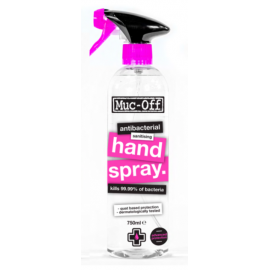 SPRAY PARA MANOS MUC-OFF ANTIBACTERIA DESINFECTANTE 750 ml