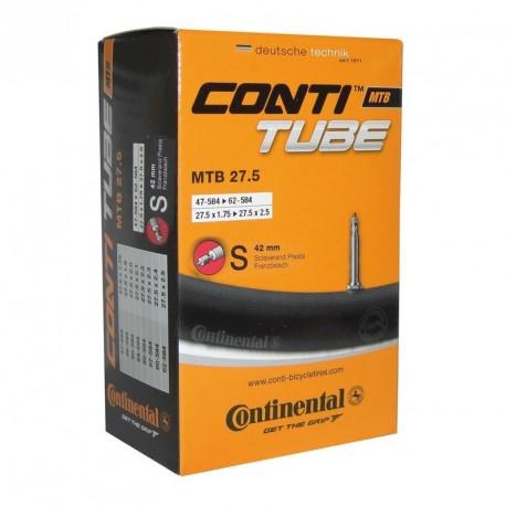 CAMARA CONTINENTAL 27.5 x1.75-2.40 PRESTA 42 mm