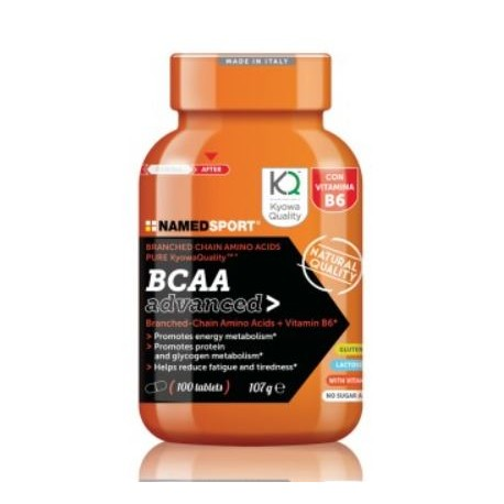 NAMED SPORT BCAA ADVANCED 2:11 100CAPS