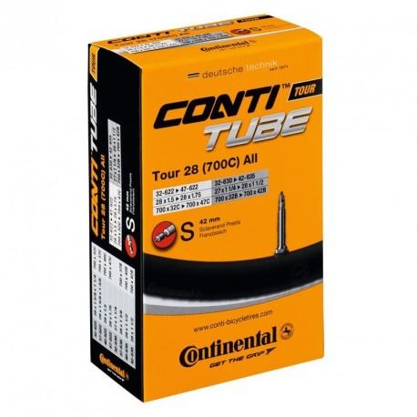 CAMARA CONTINENTAL 700x32-37-40 PRESTA 42 mm