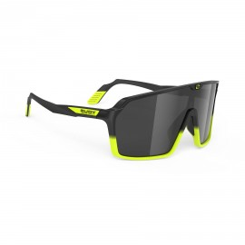 RUDY PROYECT SPINSHIELD BLACK YELOW FLUO MATTE