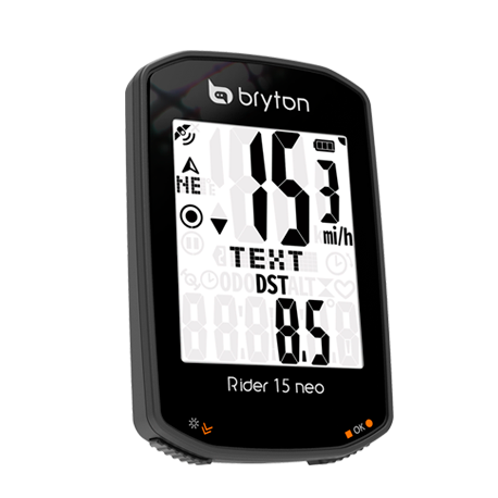 CICLOCOMPUTADOR GPS BRYTON RIDER 15 NEO E